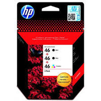 HP F6T40AE Ink Cartridge 3-Pack №46 for DeskJet