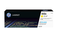 HP CF412X 410X Yellow LaserJet Toner Cartridge for Color LaserJet Pro M452/M477, up to 5000 pages