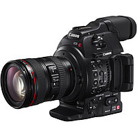 Canon EOS C100 MARK II + 24-105L Cinema камера EOS типа, версия MARK II с объективом