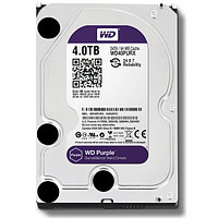 "Жесткий диск HDD SATAIII 4Tb Western Digital Purple  6Gb/s 64Mb 3,5"" WD40PURX"