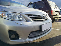 Защита радиатора Toyota Corolla 2011-2013  chrome, фото 1