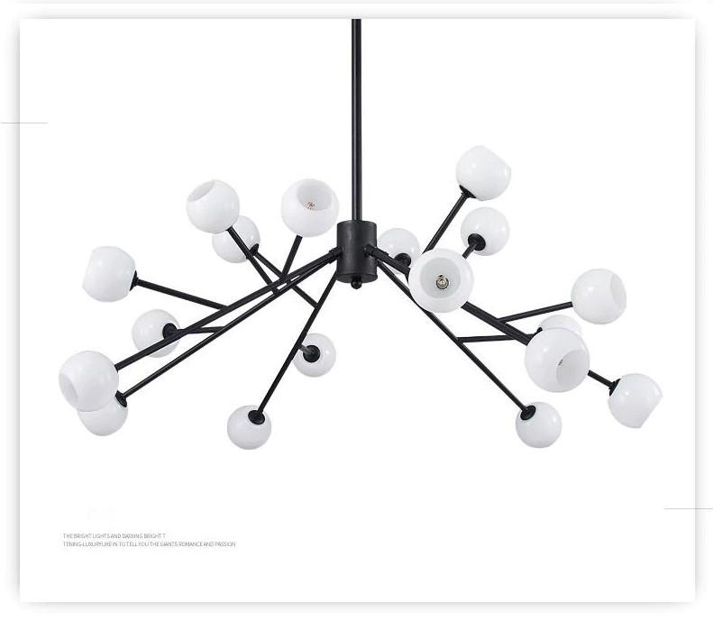 Люстра в стиле Post-Modern на 18 ламп