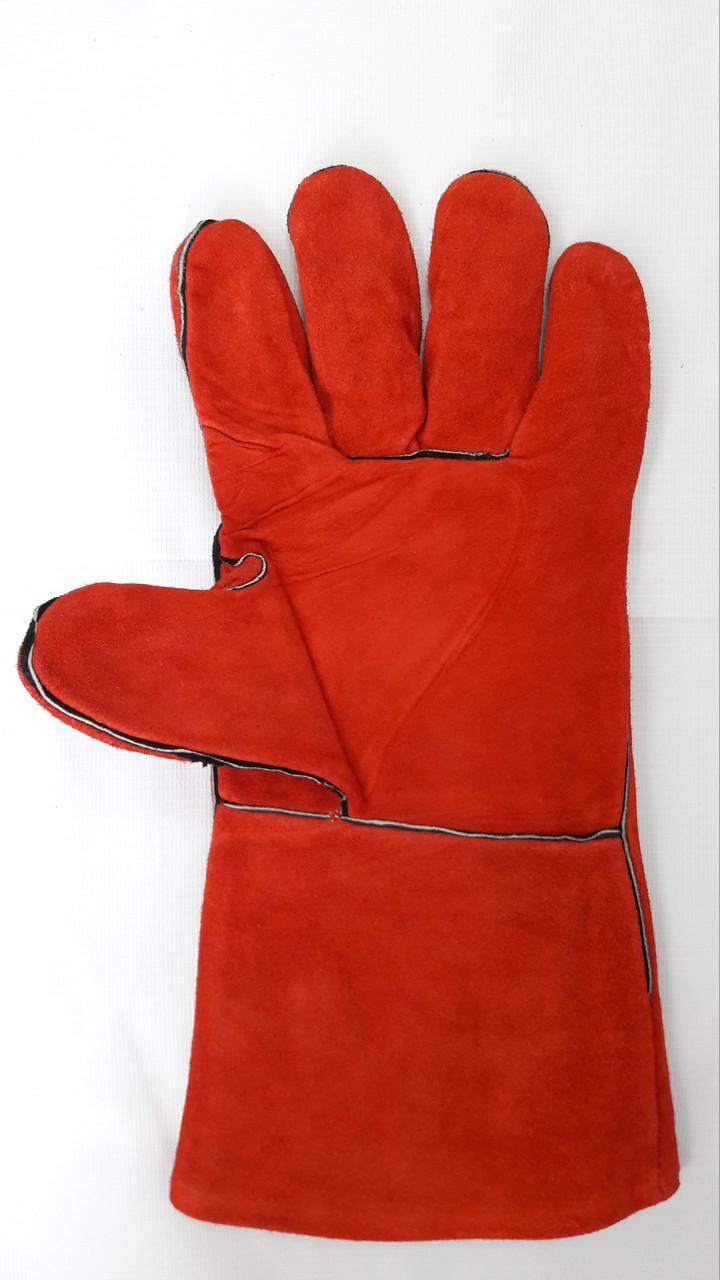 Перчатки сварщика замшевые