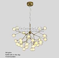 Люстра в стиле Modern на 36 ламп золото, фото 1