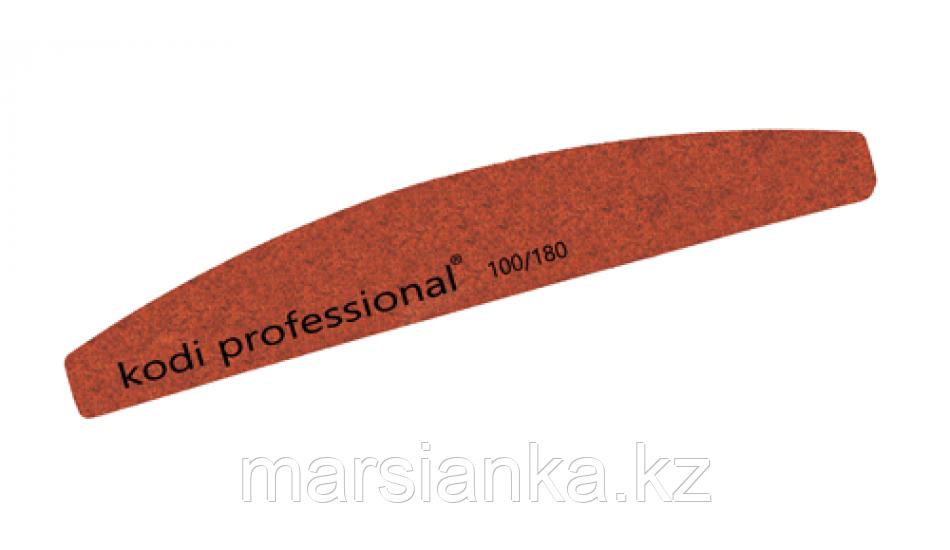 Пилка для ногтей  Kodi Half-Brown 100/180