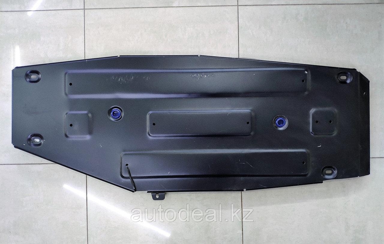 Защита топливного бака металл Geely X7