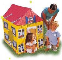 Детская надувная палатка, домик, Bestway 52007, размер 102х76х114 см