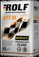 Трансмиссионное масло Rolf ATF III