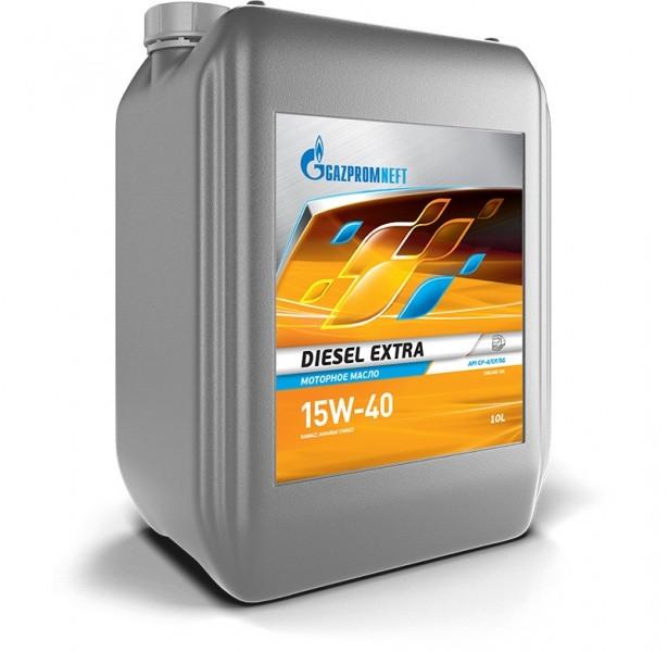 Gazpromneft Diesel Extra 15W-40 минеральное 10л.