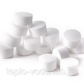 Соль таблетированная для регенерации ионообменных смол, мешок по 10 кг, фото 2