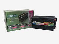Инвертор преобразователь 12 220 GD POWER  2000 Вт с функцией зарядки и UPS, фото 1