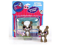 Фигурка Скунс Пеппер со светом Hasbro Littlest Pet Shop