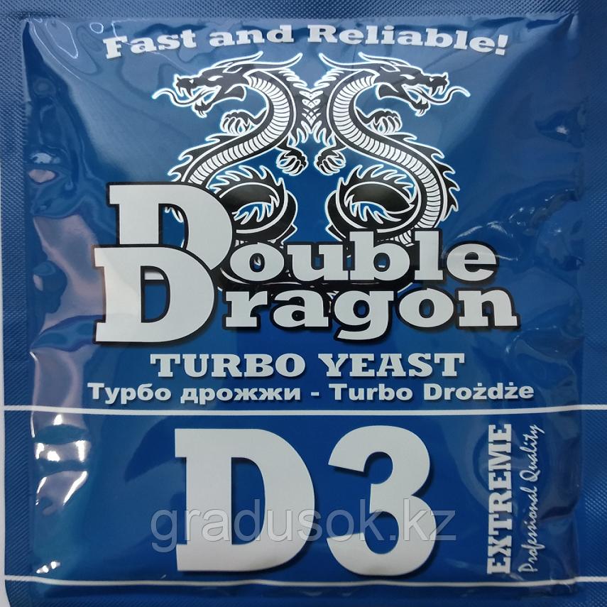 Дрожжи спиртовые Double Dragon D 3