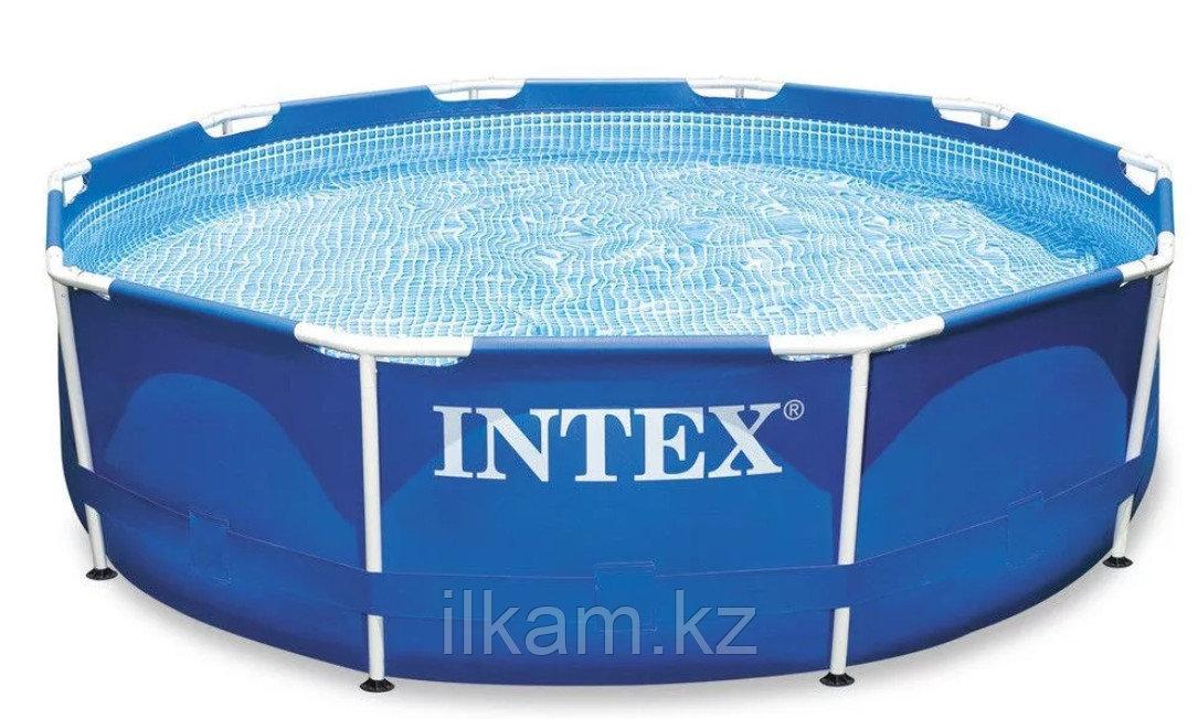 Каркасный бассейн Intex 3.66м× 0.76м с фильтром