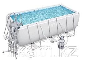 Каркасный бассейн Bestway 56457 4.12×2.01×1.22