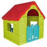 Игровой дом KETER складной FOLDABLE PLAYHOUSE (101.8x89.7x110.6h),  арт. 17202656, фото 2