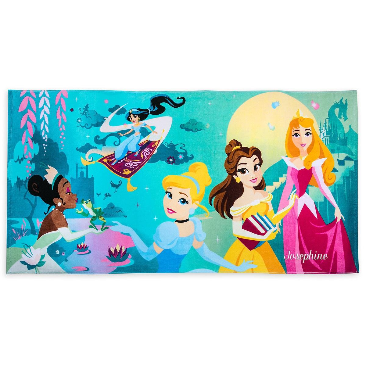 Пляжное полотенце для детей «Принцессы Дисней»
