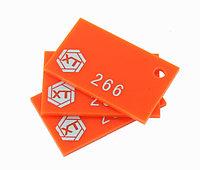 Акрил оранжевый3MM(NO:266)