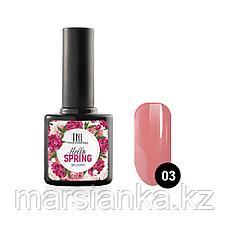 Гель-лак TNL Hello Spring #03 розово-коралловый, 10мл