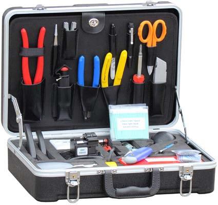 Профессиональный набор для оптоволоконных сетей UT-01