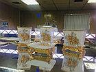 Фарфоровый набор для ванной (золотисто-белый), фото 2