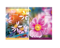 """Блокнот ArtSpace """"Цветы. Blooming the garden"""" на спирали, А5, 60 листов в клетку, твердая подложка"""