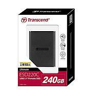 Transcend 240GB USB 3.1 Gen 1 USB Type-C ESD220C Portable SSD Solid State Drive TS240GESD220C