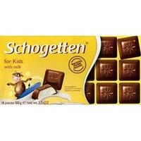 Молочный шоколад Schogetten Kids Chocolate Шоготтен Детский 100гр