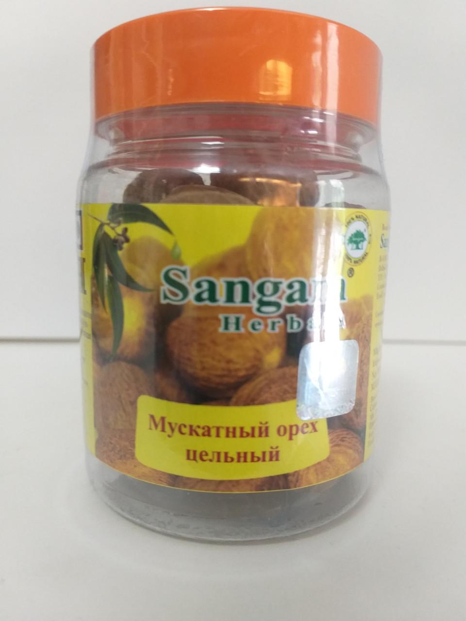 Мускатный орех цельный ,Сангам, 70 гр