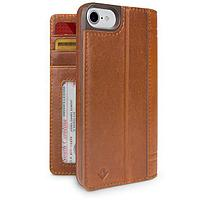 Journal Full leather wallet case and display stand for iPhone 7/8