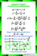 Плакаты по алгебре 8 класс, фото 1