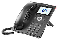 "IP-телефон HP 4110 (J9765A) IP Phone; 2x 1GE PoE ports; 3.5""color TFT LCD; 320x240pix"