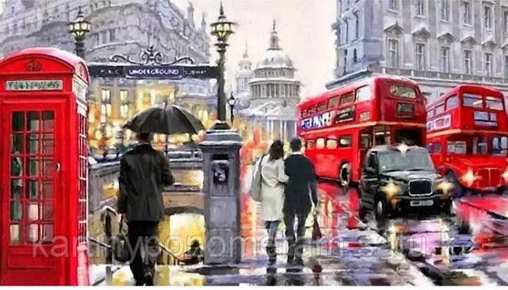 """Картина по номерам """"В центре Лондона"""""""