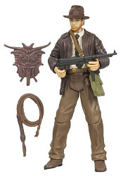 *Hasbro Indiana Jones with SubMachine Gun - Last Crusade Фигурка