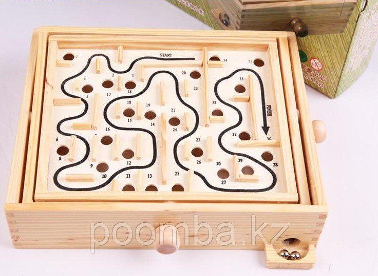 Деревянный лабиринт Maze Games