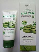 Пенка для умывания Esfolio Soothing Cleansing Foam Aloe Vera 150ml.