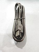 Шнур для принтера USB A\B 1.5 метра (серый)