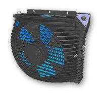 Масляный радиатор/охладитель масла BZEA 200L (12V.)