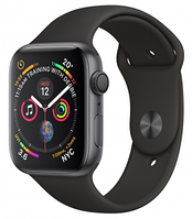 Apple Watch Series 1, 42mm Space Grey Aluminium Case (MP032GK/A)(207548) серый