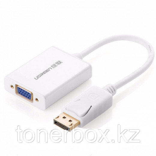Конвертер UGREEN, DisplayPort на VGA (20406)