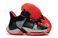 "Air Jordan Why Not Zer0.2 ""Black/Cement"" (40-46), фото 1"