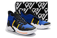 "Air Jordan Why Not Zer0.2 ""Black/Blue"" (40-46) , фото 3"