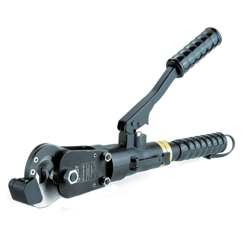 Кабелерез гидравлический для оптоволоконного кабеля с броней