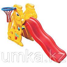Горка Заяц с баскетбольным кольцом