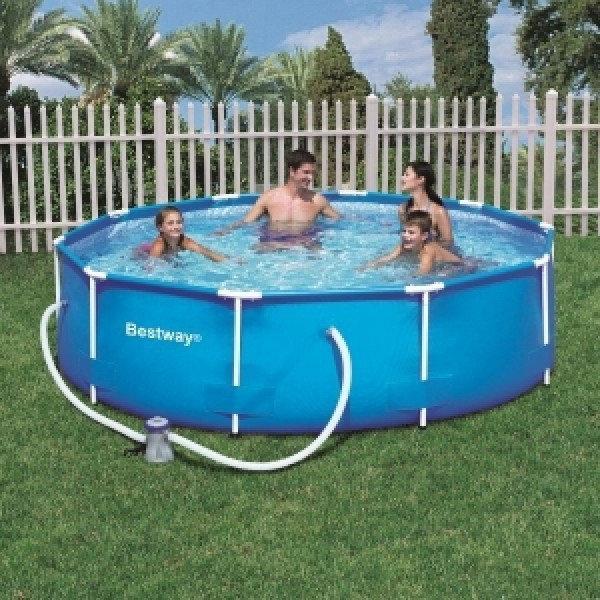 Каркасный бассейн Bestway 56408 (305*76 см с насосом)