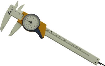 Штангенциркуль стрелочный 150мм, Shinwa, пластиковый