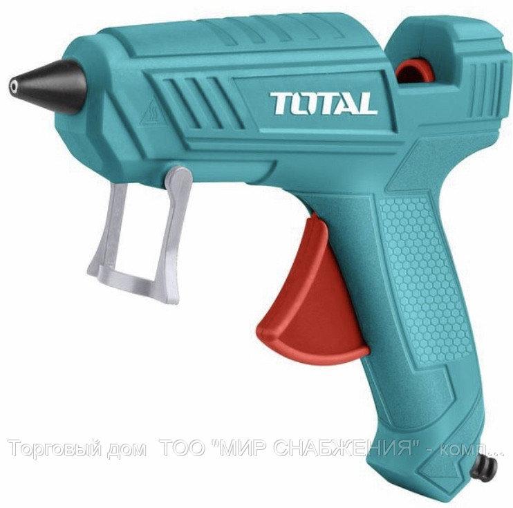 Пистолет термоклеящий 100Вт,11,2мм диаметр (total)