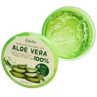 Гель для лица и тела Esfolio Moisture Soothing Gel Aloe Vera 100% 300ml.