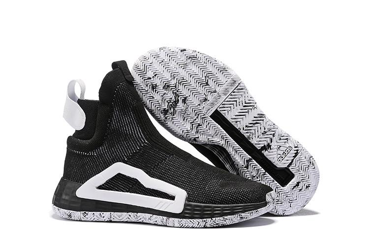 Баскетбольные кроссовки Adidas N3XT L3V3L  ( Next Level ) Black\White