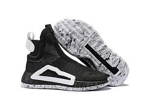 Баскетбольные кроссовки Adidas N3XT L3V3L  ( Next Level ) Black\White, фото 2